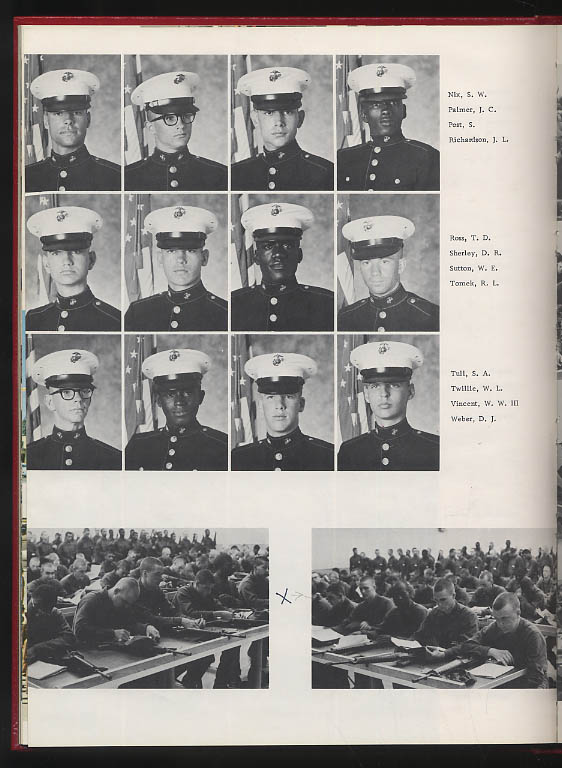 Image for Marine Corps Recruit Depot San Diego CA 3rd Battalion Platoon 3048 1974 Yearbook