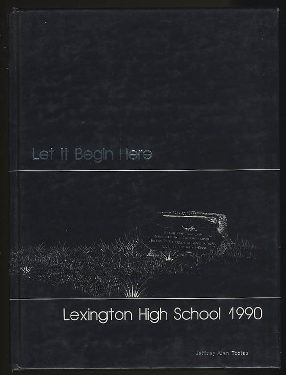 Image for Lexington High School 1990 Yearbook Lexington Massachusetts