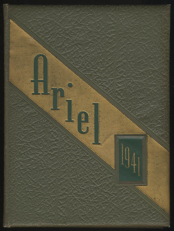 Image for Ariel 1941 Yearbook University of Vermont Burlington VT