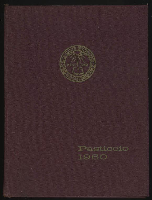 Image for Pasticcio 1960 Yearbook Clark University Worcester Massachusetts