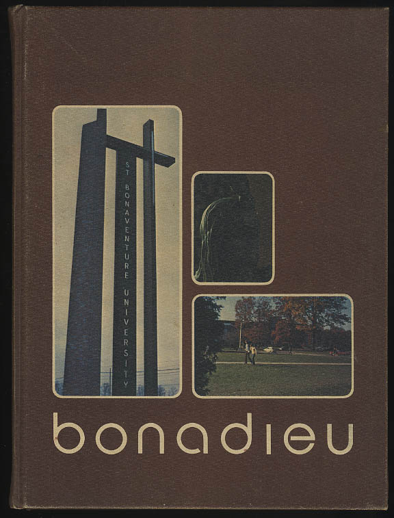 Bonnadieu 1974 Yearbook St Bonaventure University Allegany NY