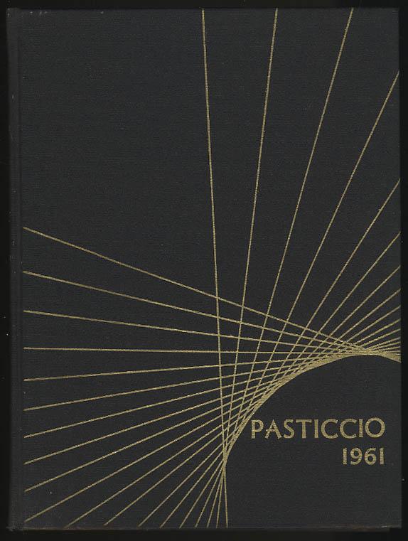 Image for Pasticcio 1961 Yearbook Clark University Worcester Massachusetts