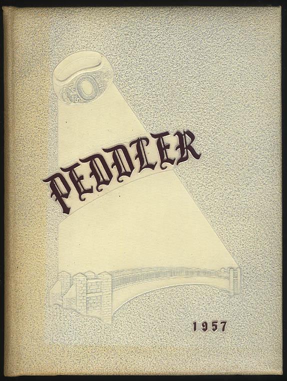 Image for Peddler 1957 Yearbook Worcester Polytechnic Institute Massachusetts