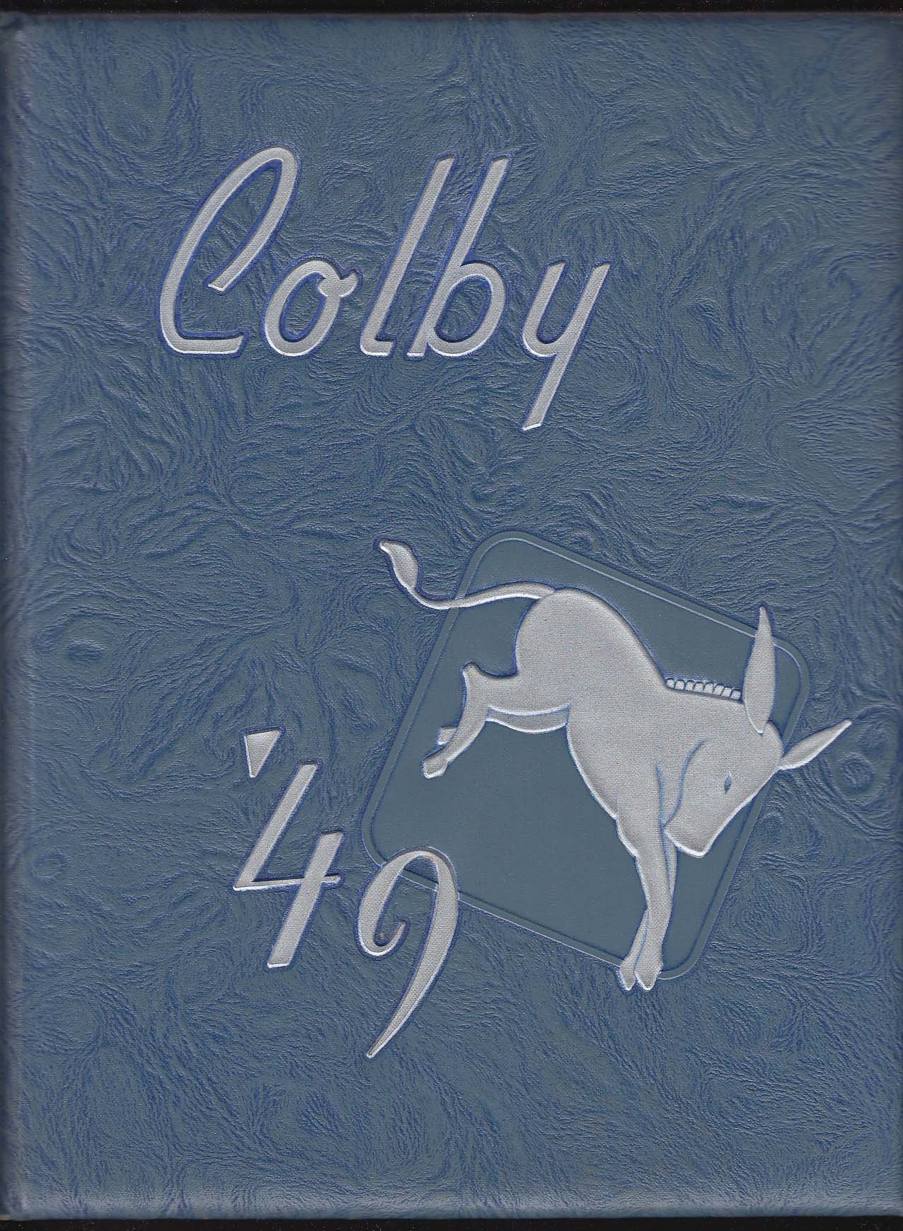 Image for Oracle 1949 Yearbook Colby College Waterville Maine
