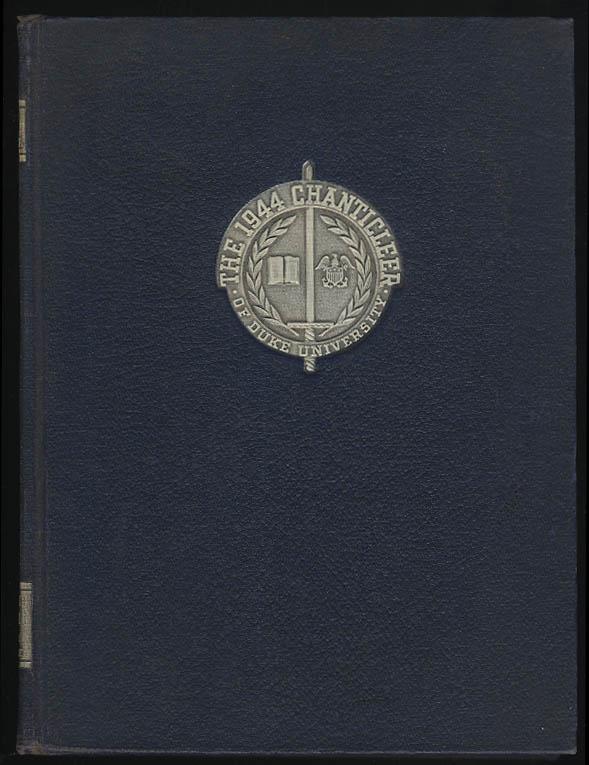 Image for 1944 Chanticler Yearbook Duke University Durham North Carolina