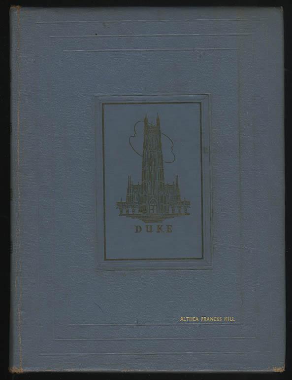 Image for Chanticleer 1943 Yearbook Duke University Durham North Carolina