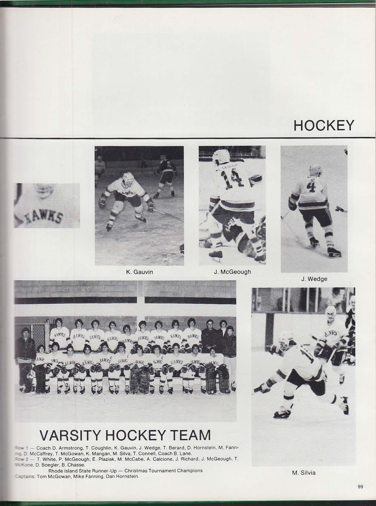 Mitre 1981 Yearbook Bishop Hendricken High School Warwick Rhode Island