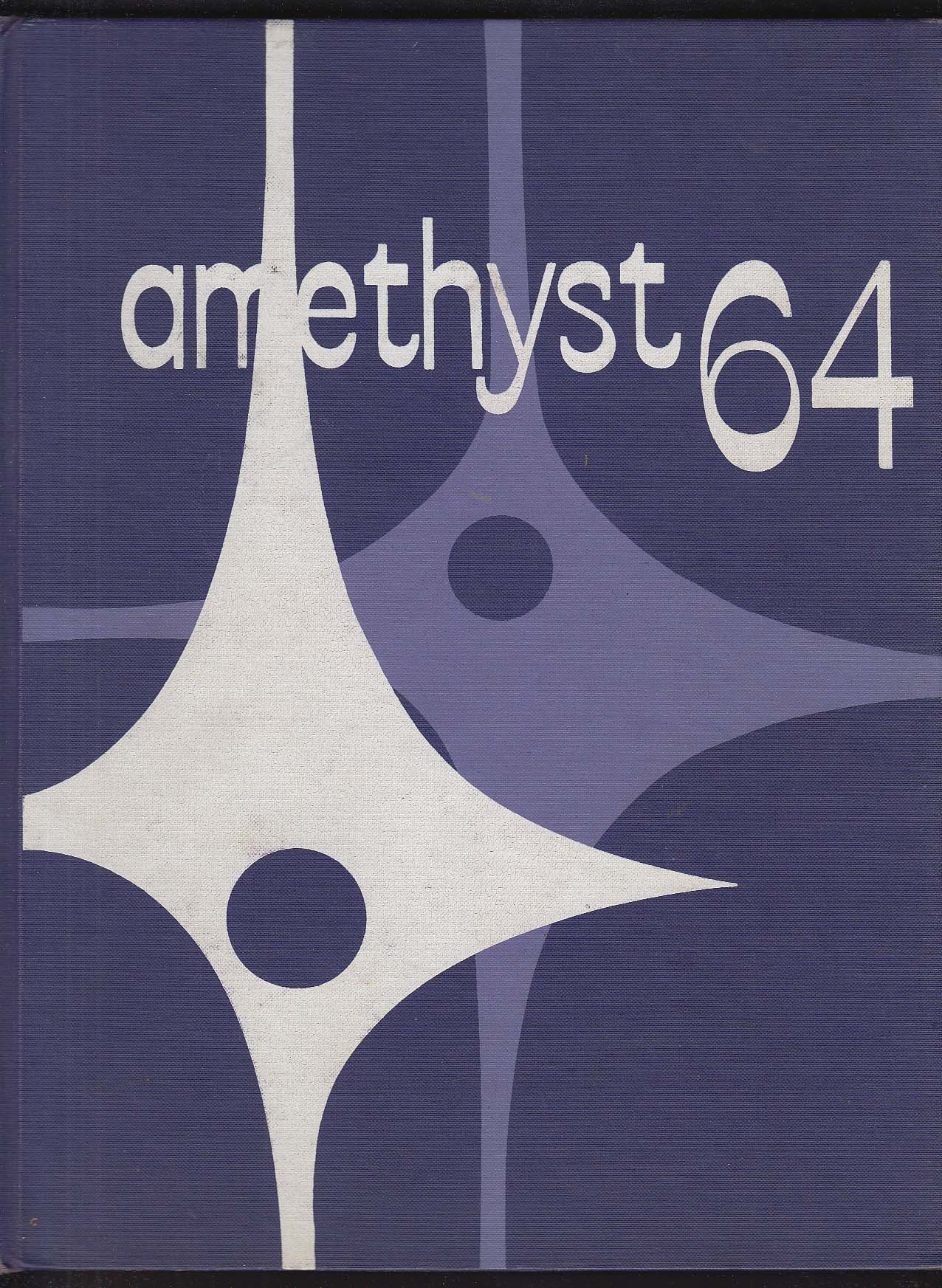 Image for Amethyst 1964 Yearbook Deering High School Portland Maine