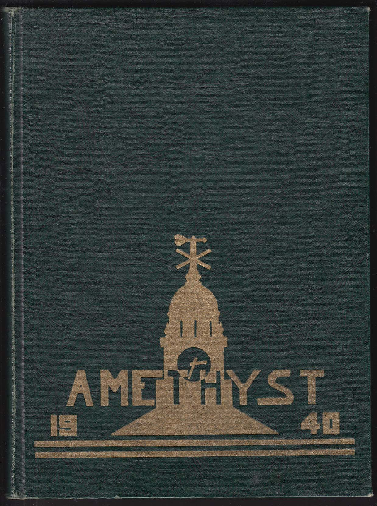 Amethyst 1940 Yearbook Deering High School Portland Maine