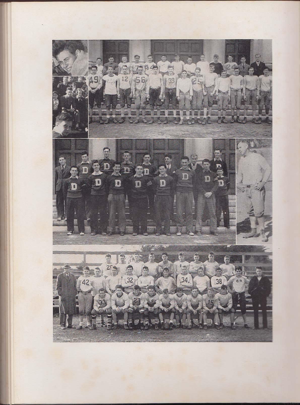 Amethyst 1938 Yearbook Deering High School Portland Maine