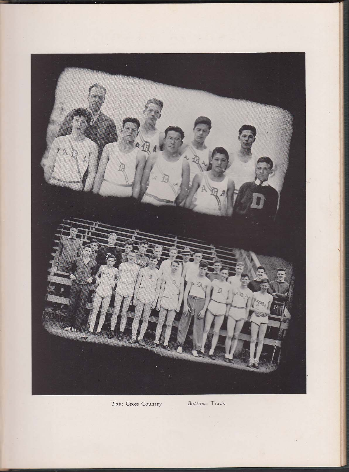 Image for Amethyst 1937 Yearbook Deering High School Portland Maine