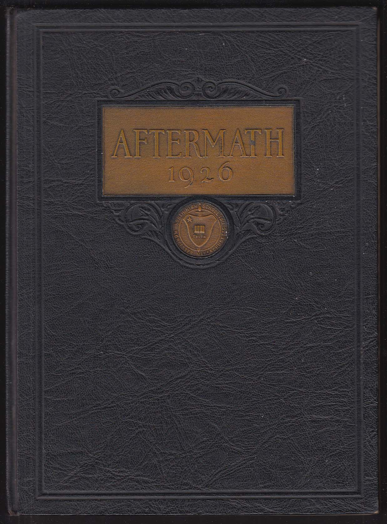 Aftermath 1926 Yearbook North High School Worcester MA + Ruth Lindley portrait