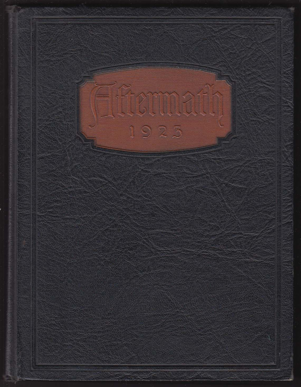 Image for Aftermath 1923 Yearbook North High School Worcester MA + Marion Newman portrait
