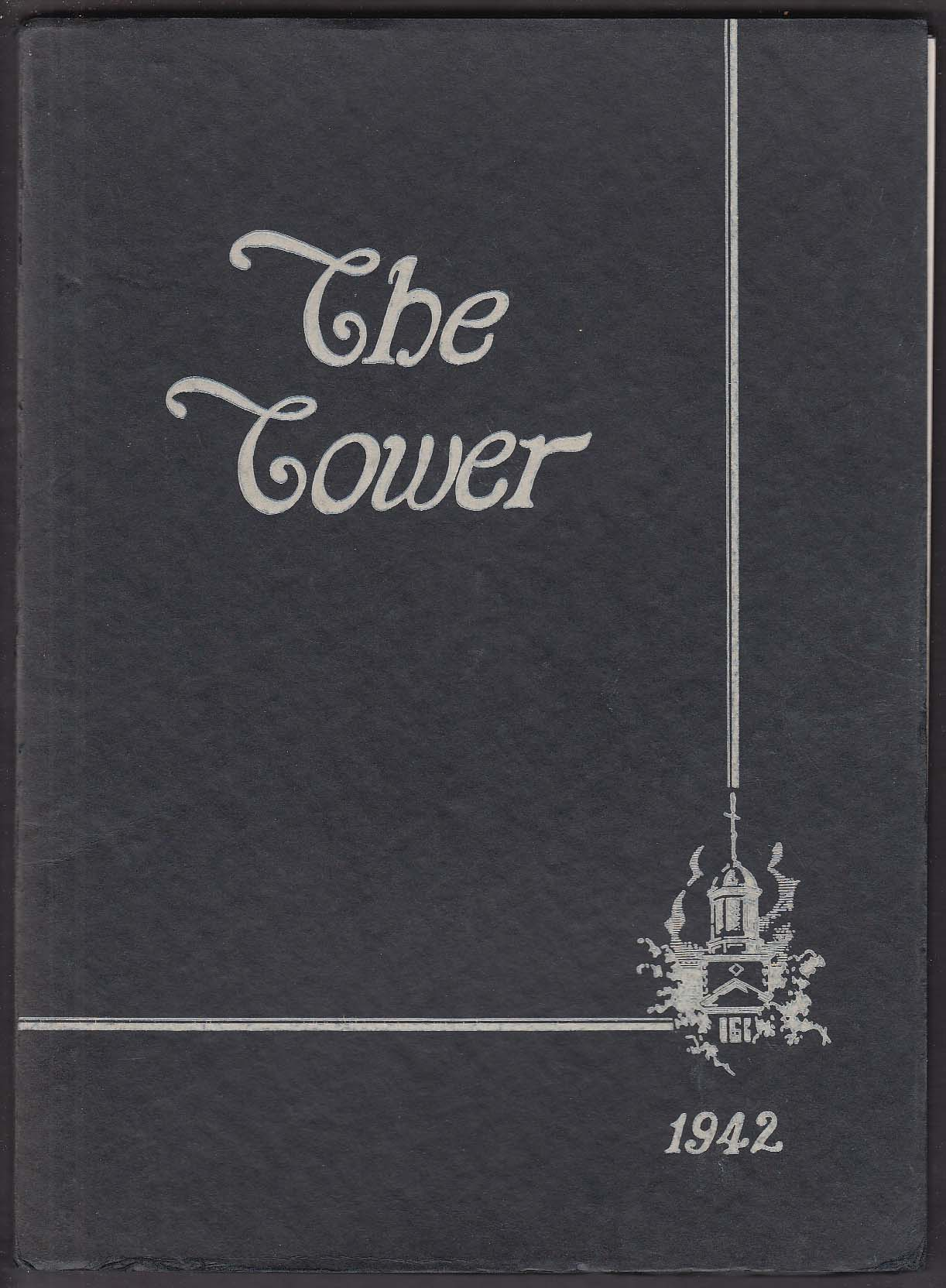 The Tower 1942 Yearbook Westbrook Junior College Portland Maine