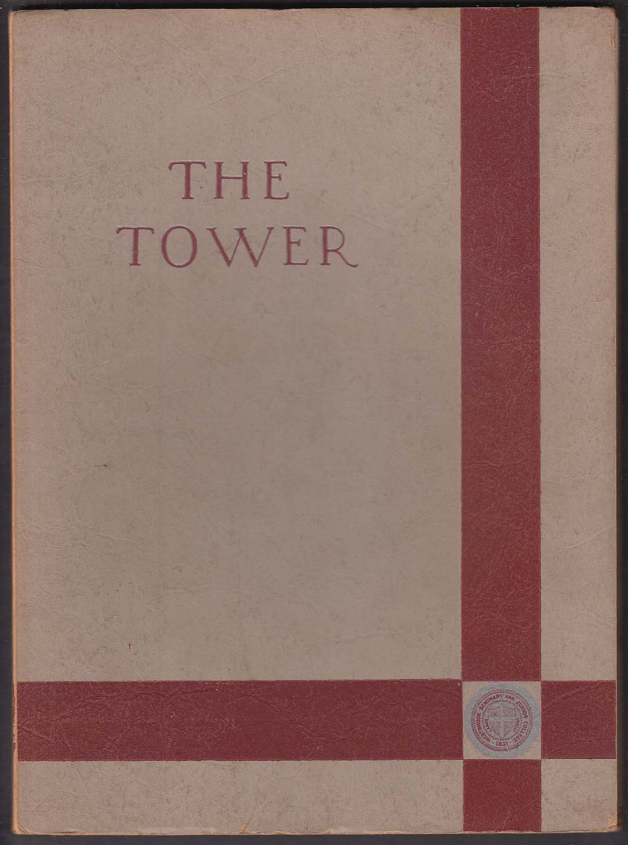The Tower 1941 Yearbook Westbrook Junior College Portland Maine