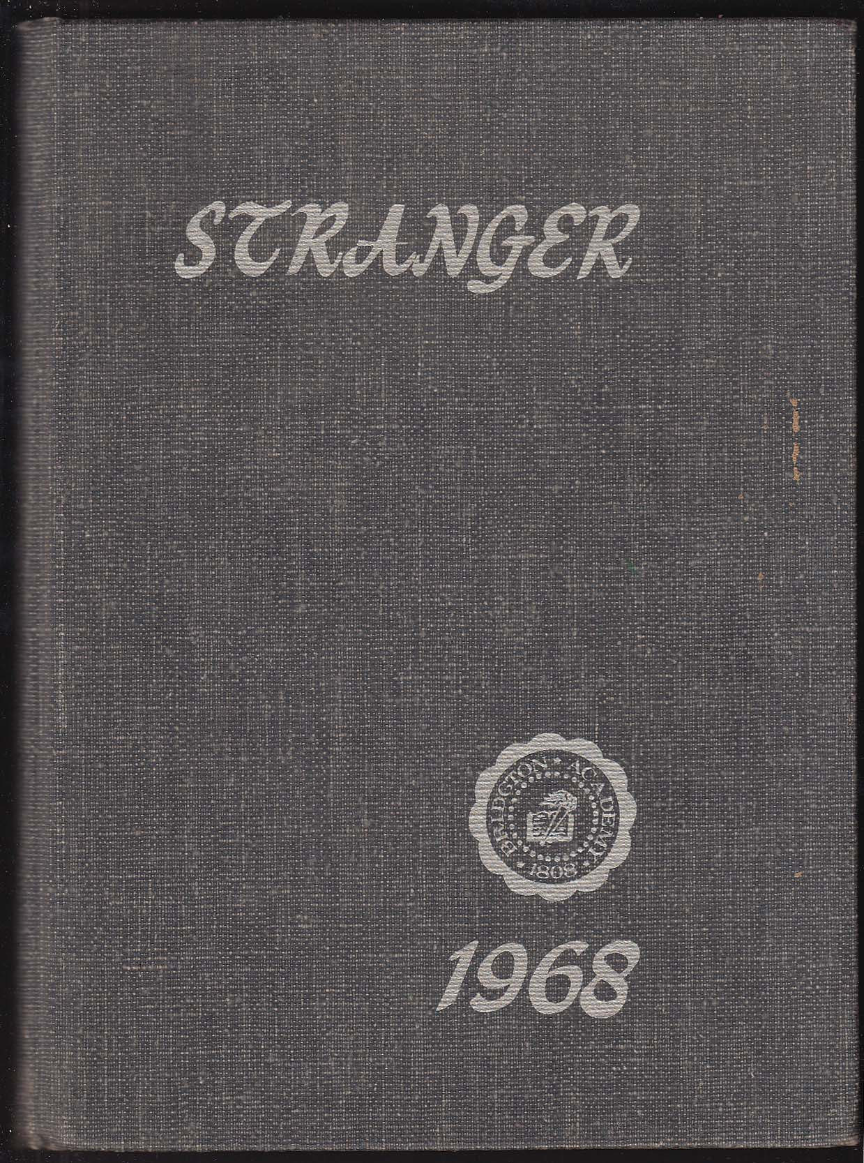 Stranger 1968 Yearbook Bridgton Academy North Bridgton Maine