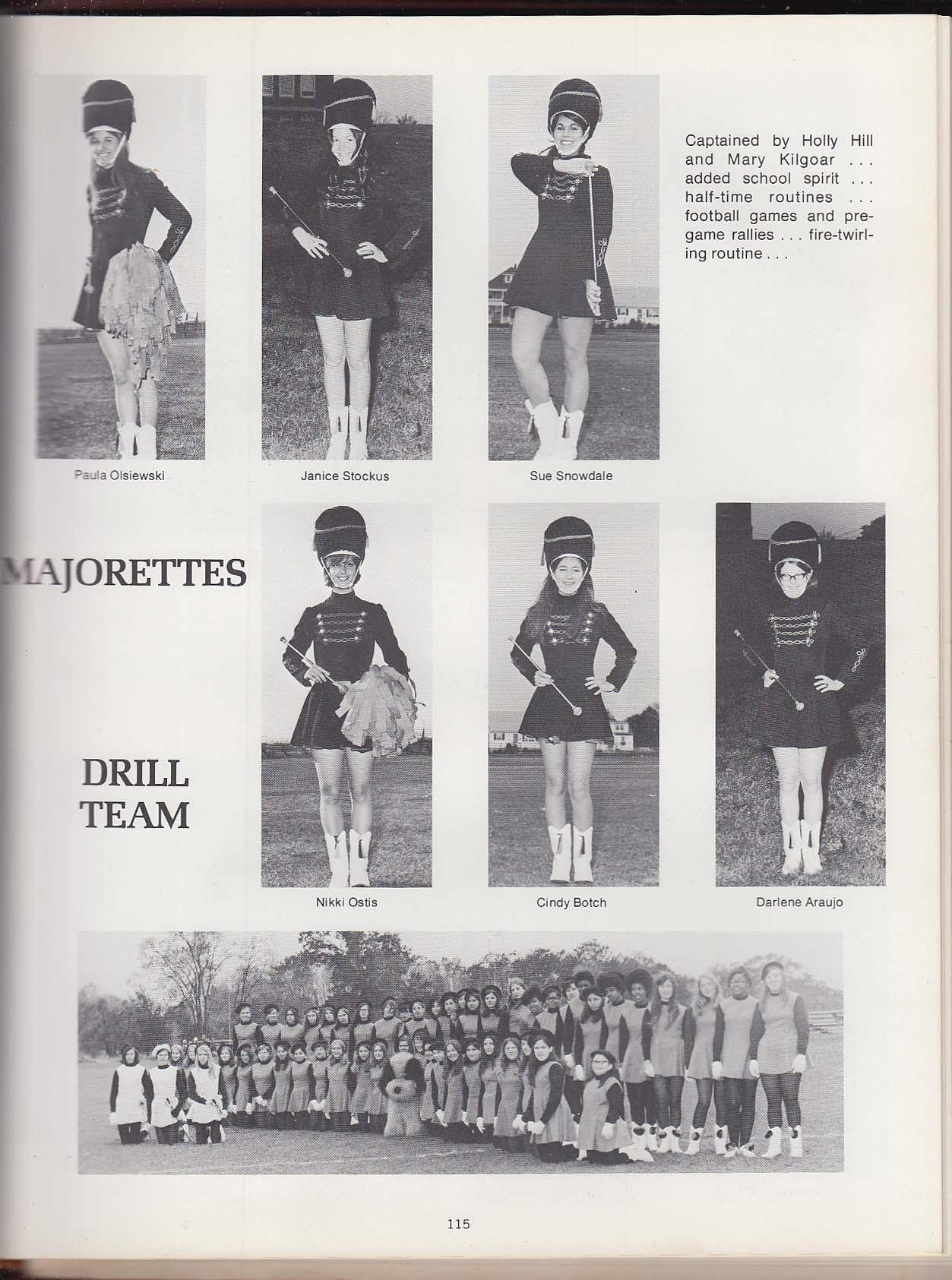 Stotonian 1971 Yearbook Stoughton High School Stoughton Massachusetts