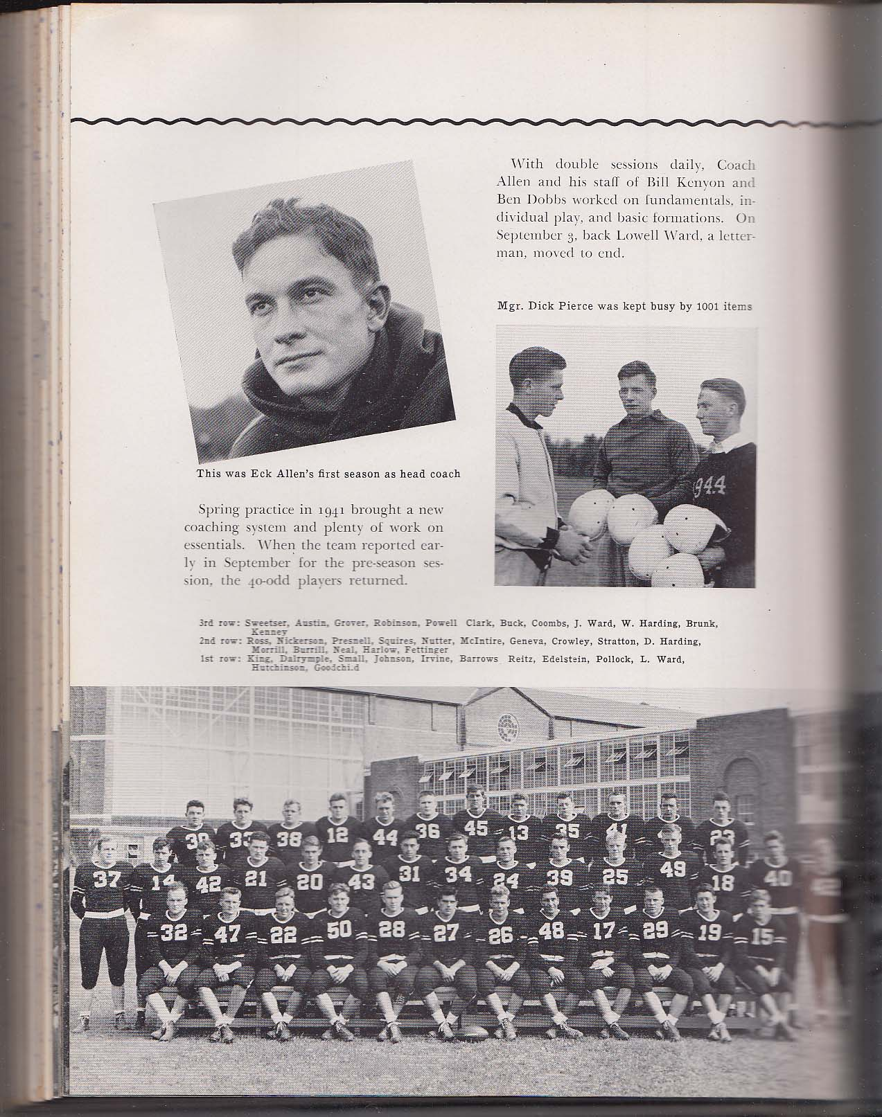 Prism 1943 Yearbook University of Maine