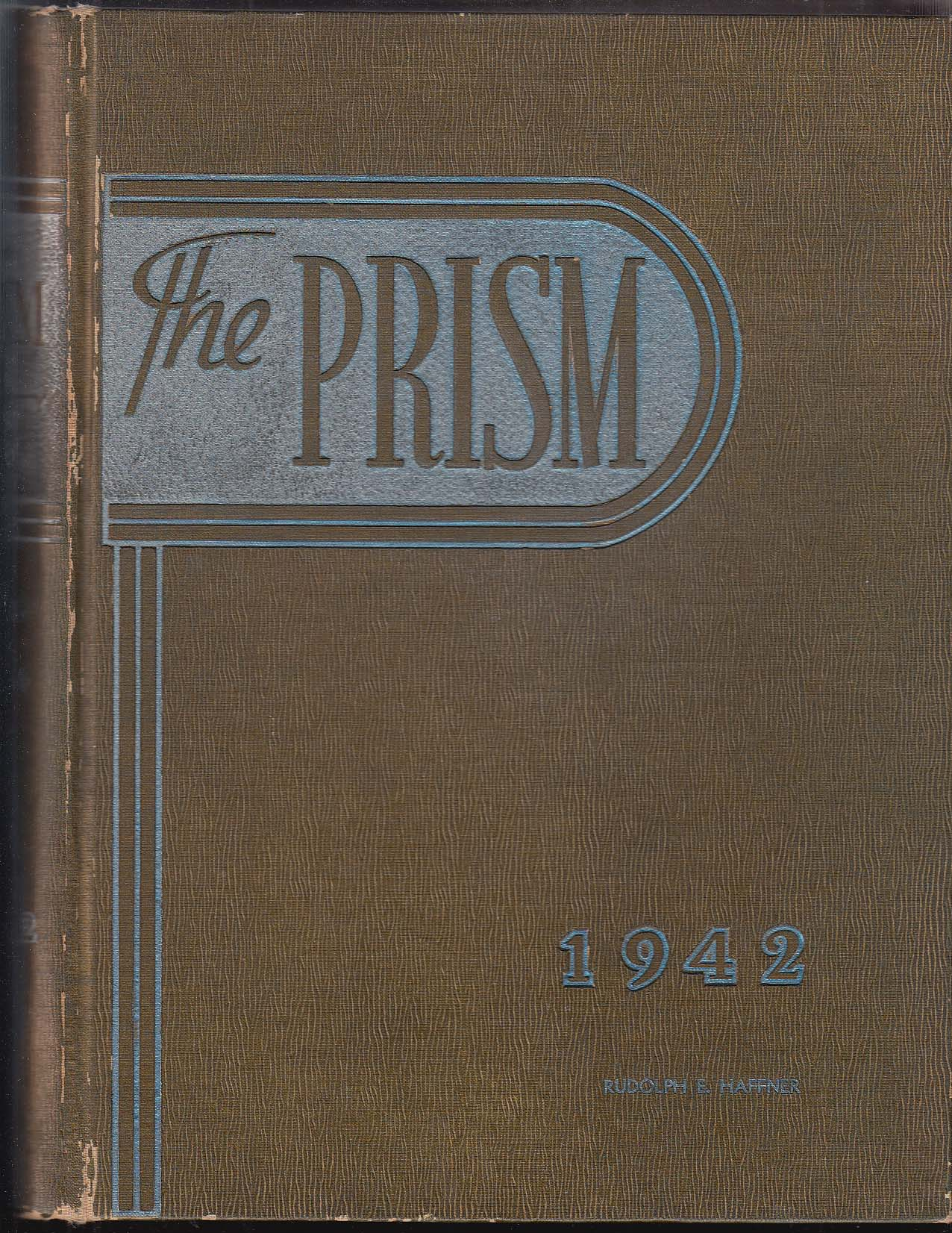 Image for The Prism 1942 Yearbook University of Maine