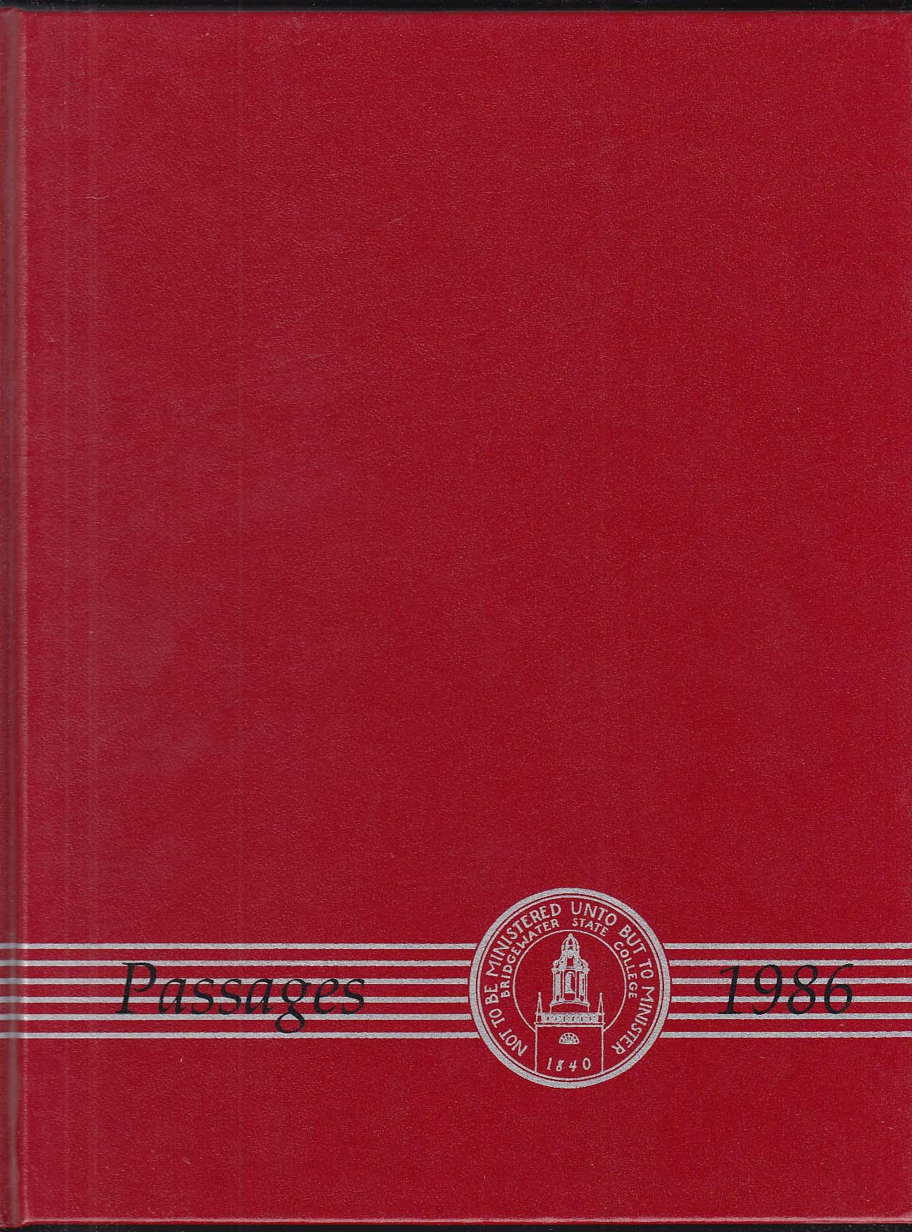 Image for Passages 1986 Yearbook Bridgewater State College Bridgewater Massachusetts