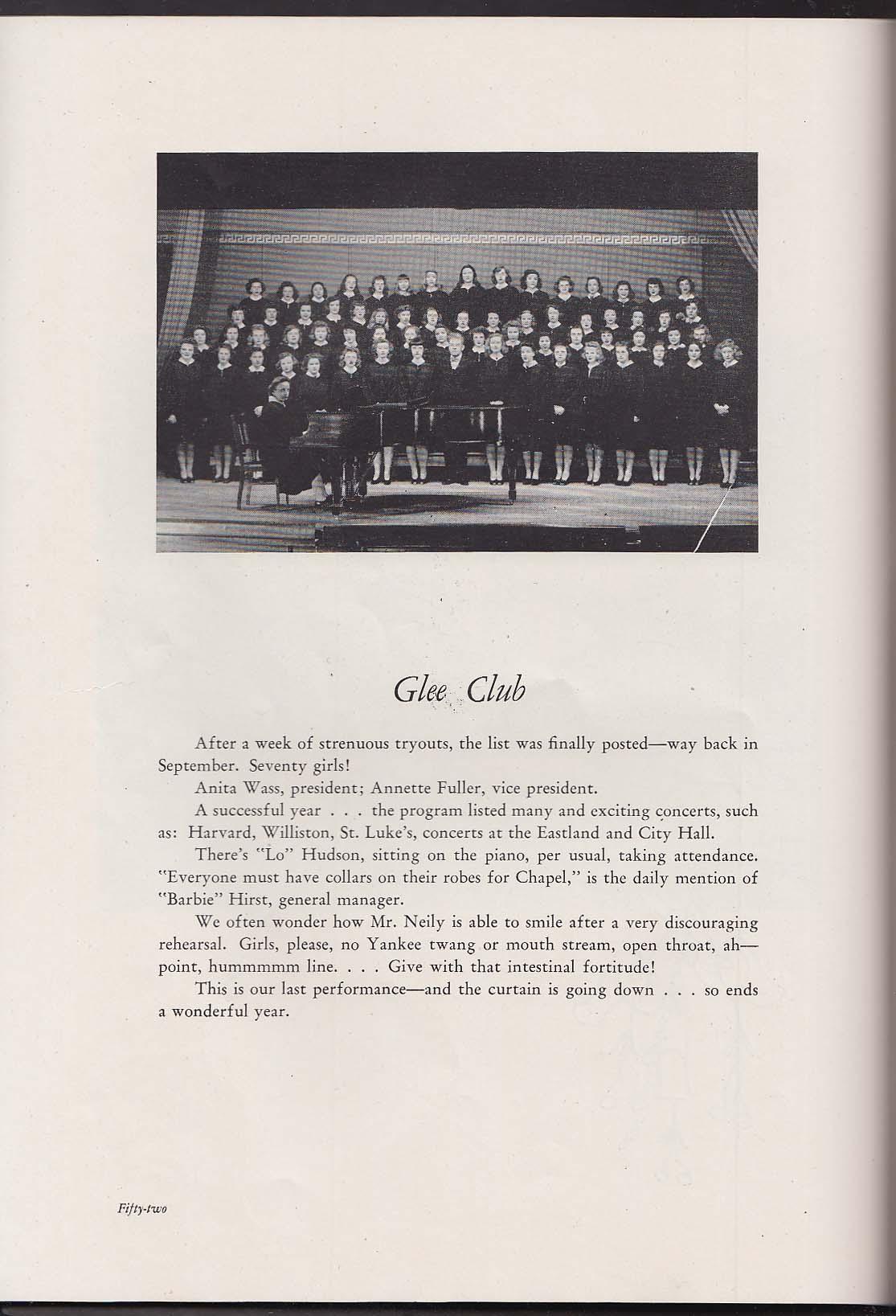 The Tower 1944 Yearbook Westbrook Junior College Portland Maine