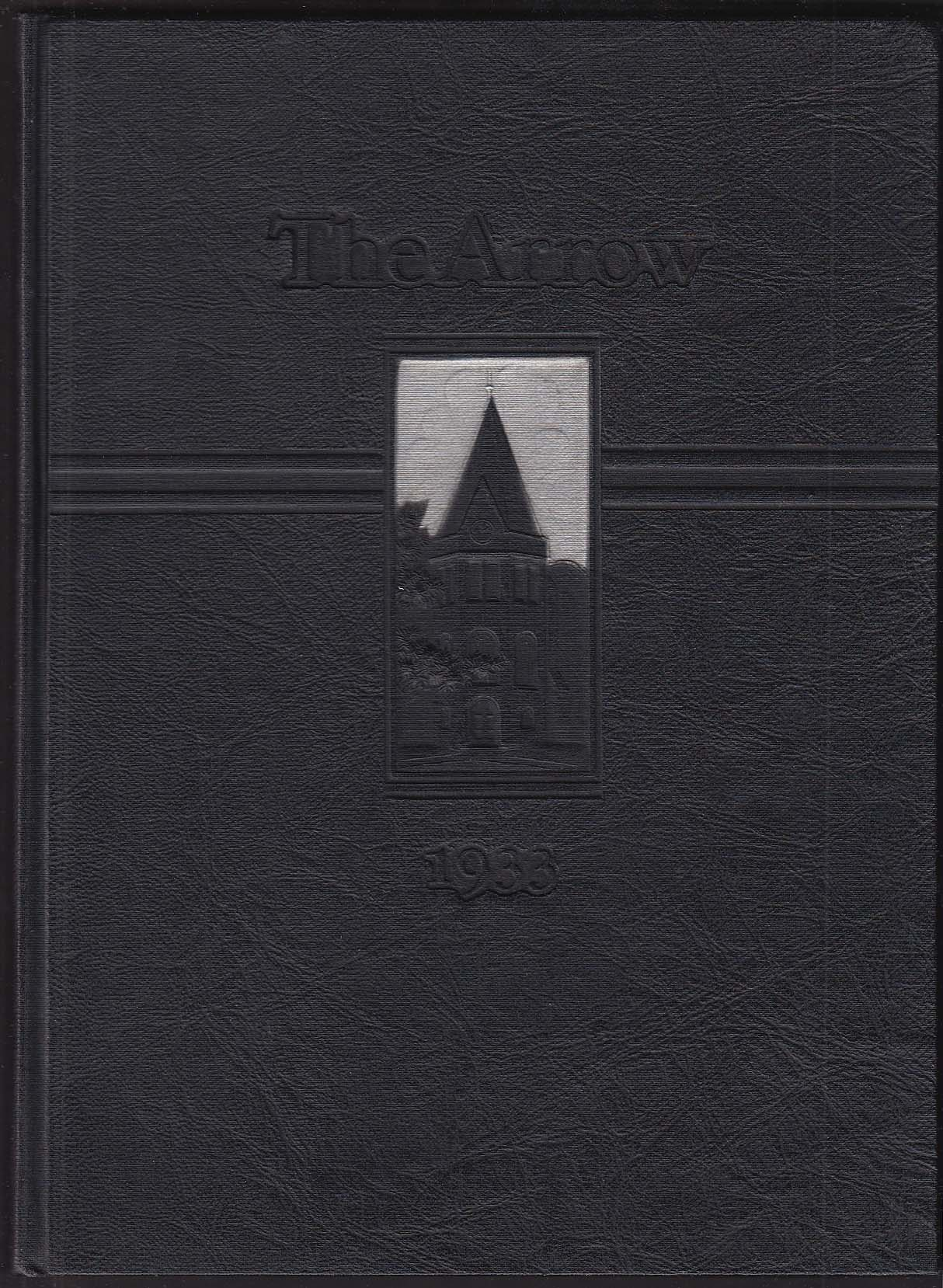 Image for The Arrow 1933 Yearbook Ridgewood High School Ridgewood New Jersey