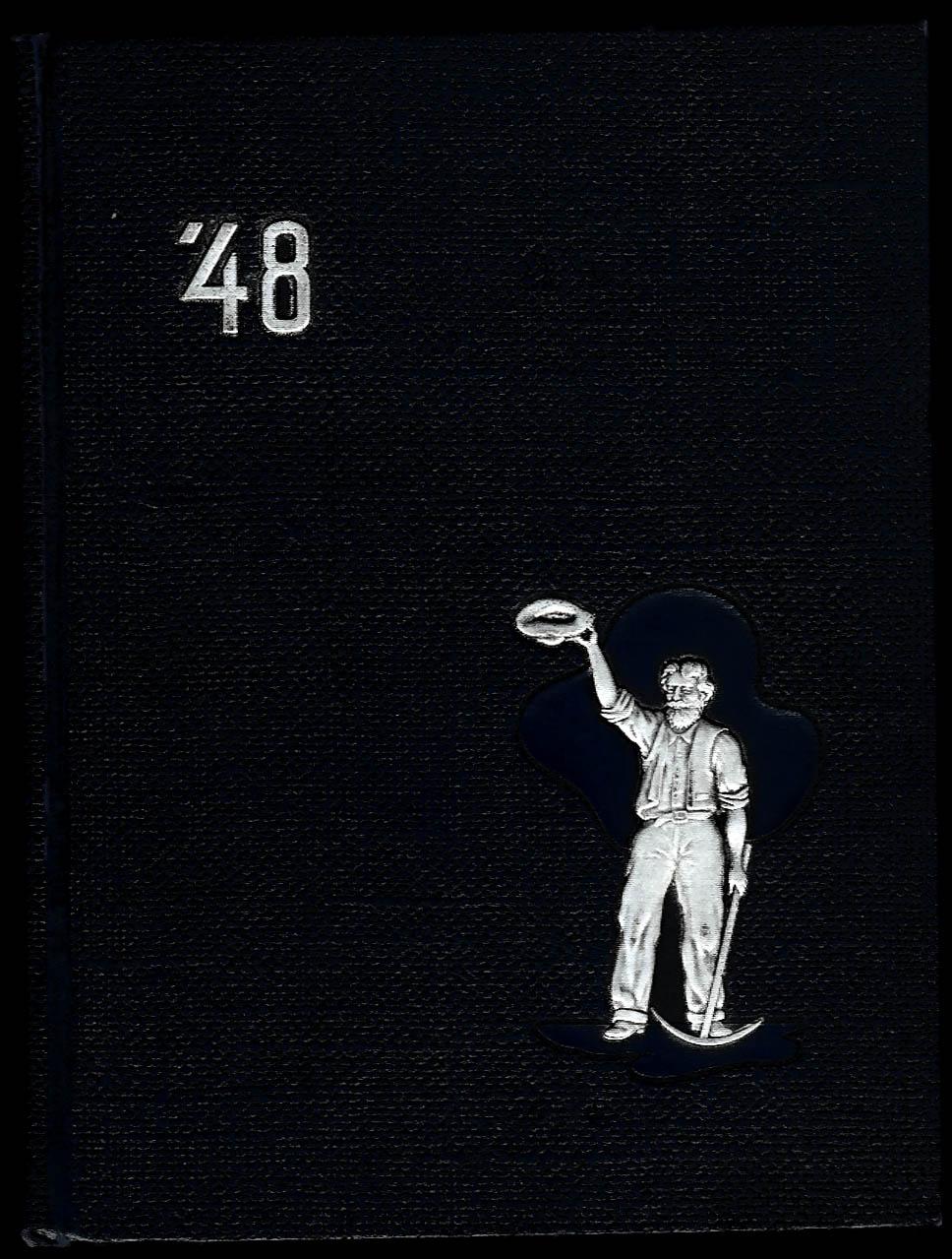 1948 Prospector Yearbook Colorado School of Mines Golden CO