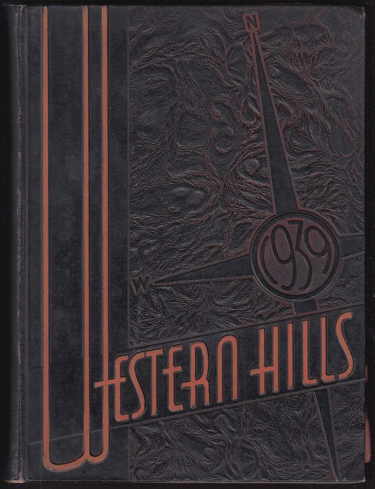 Image for Western Hills High School 1939 Yearbook Cincinnati Ohio