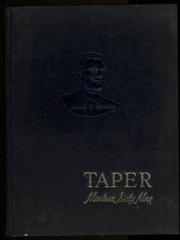 Taper 1965 Yearbook American International College Springfield Massachusetts