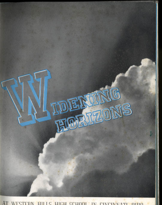 Western Hills Annual 1941 Yearbook Western Hills High School Cincinnati Ohio