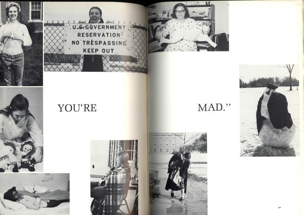 Epilogue 1971 Yearbook Saint Joseph College West Hartford Connecticut