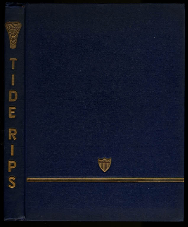 Tide Rips 1947 United States Coast Guard Academy Yearbook John B Hayes