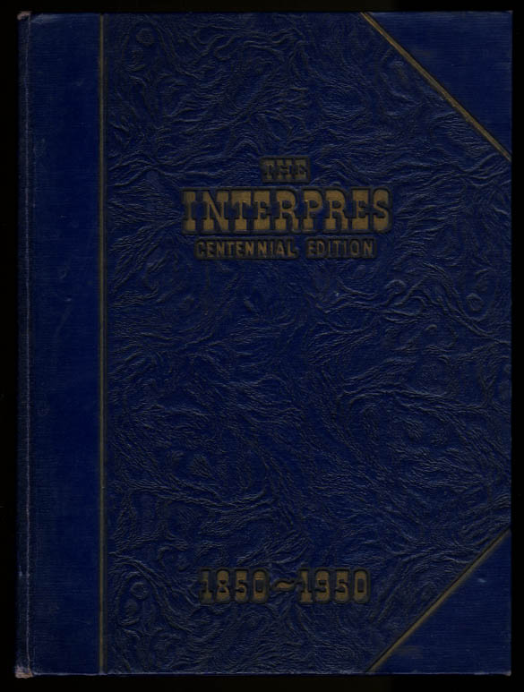 The Interpres Centennial Edition 1950 Yearbook University of Rochester New York