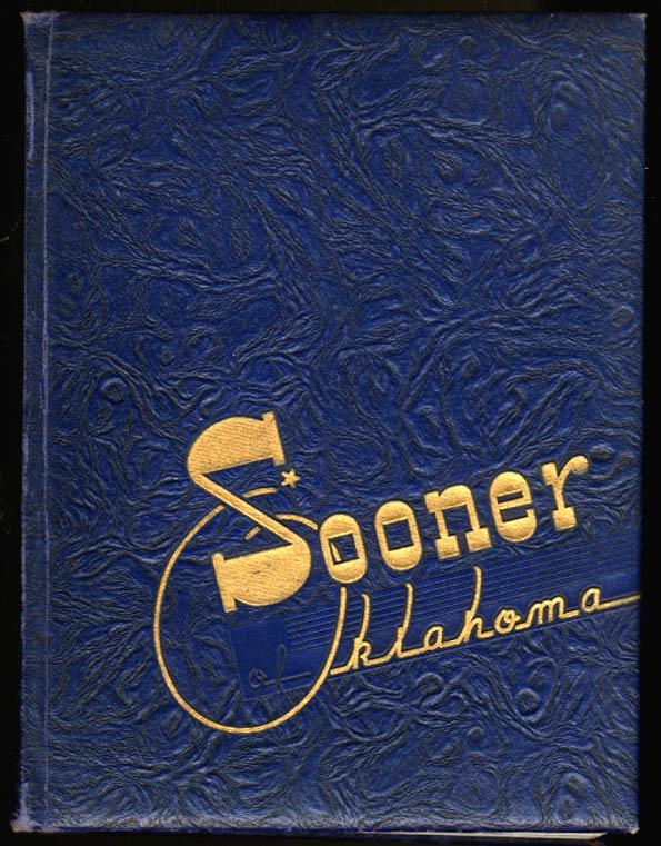 Sooner 1943 Yearbook University of Oklahoma