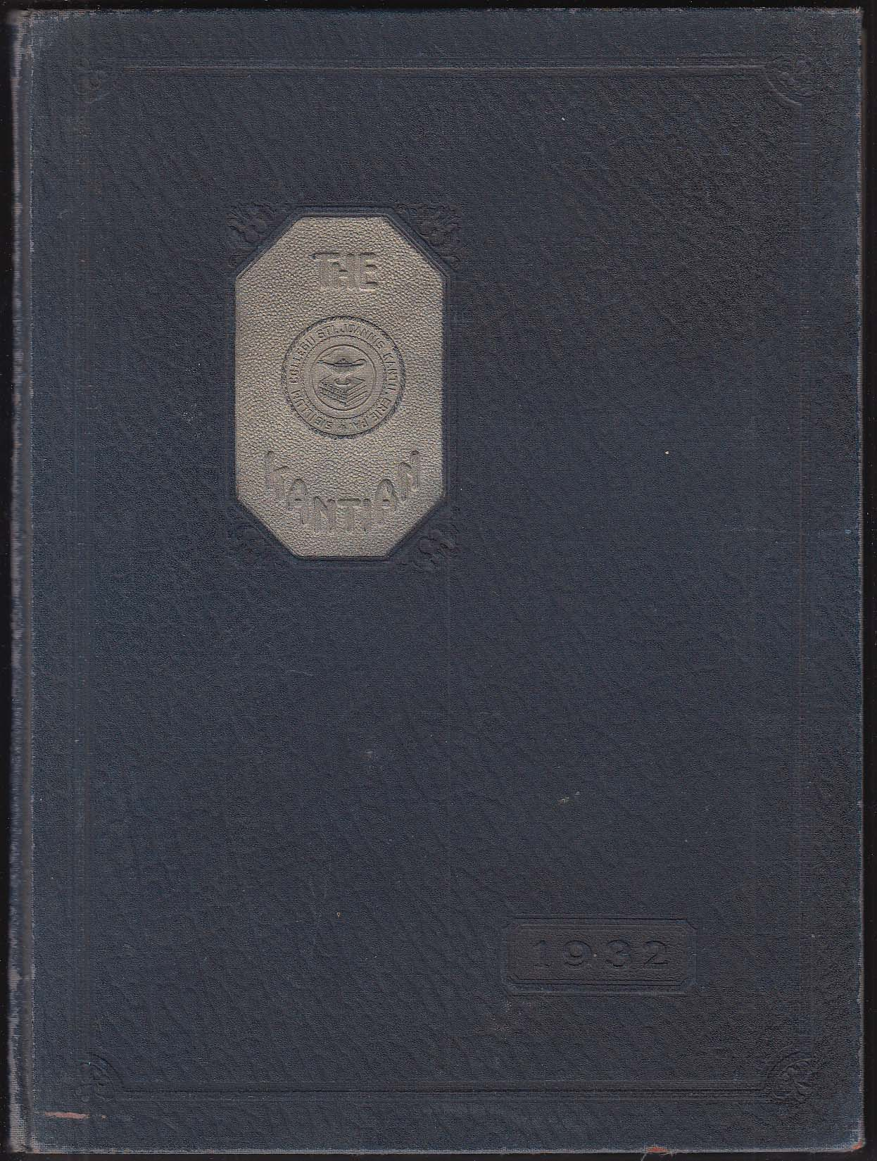 Image for The Kantian 1932 Yearbook St John Kanty College Erie Pennsylvania