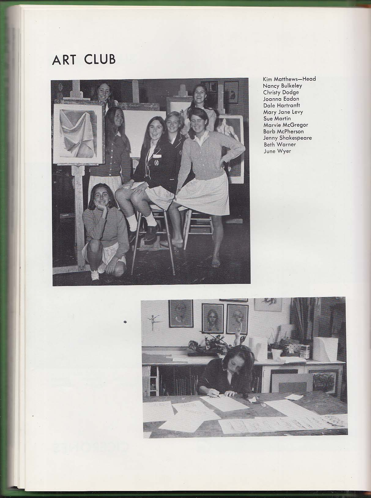 Image for The 1968 Pepperpot Yearbook Ethel Walker School Simsbury Connecticut