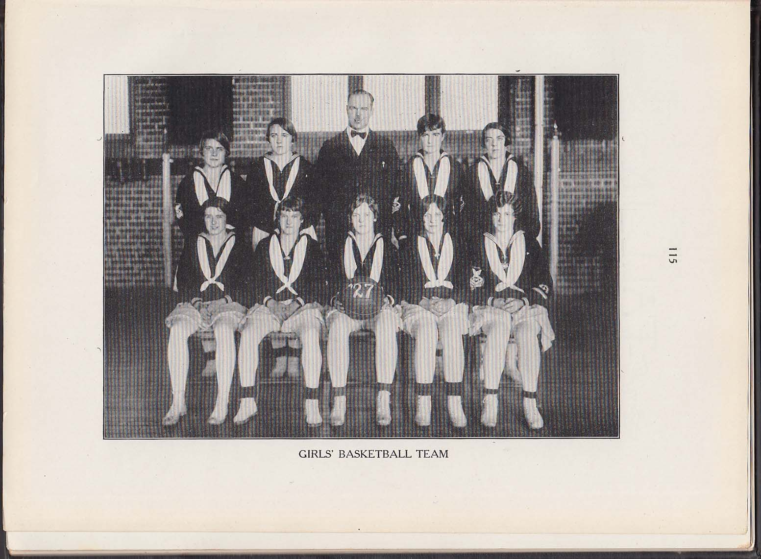 Image for Fall In 1927 Yearbook New Haven Normal School of Gymnastics New Haven CT