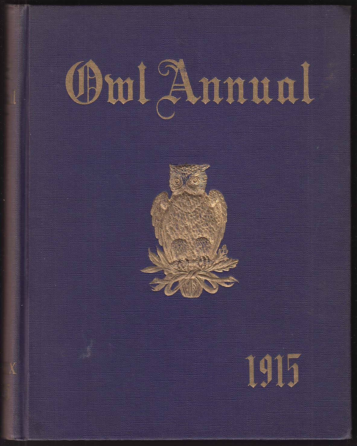 Image for Owl Annual 1915 Yearbook Hartford Public High School Hartford Connecticut