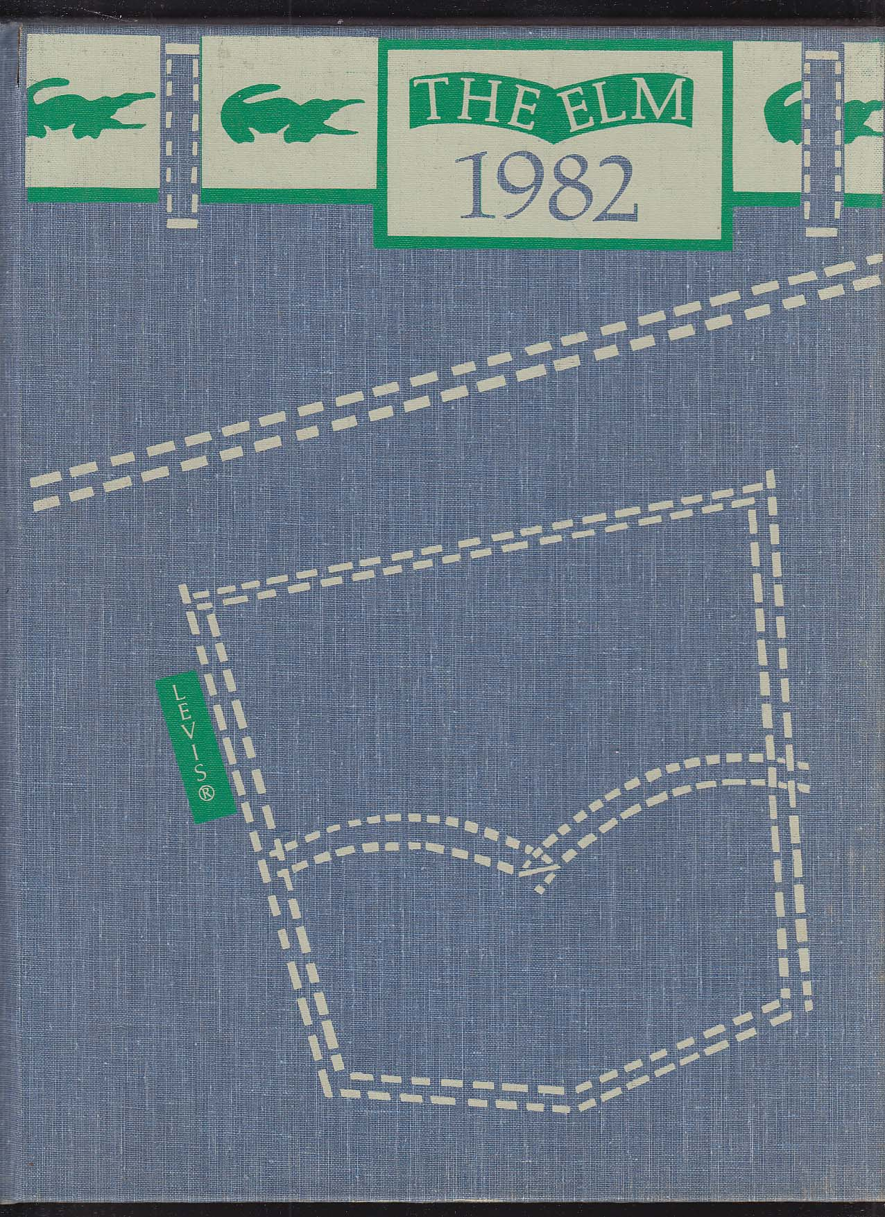 Image for The Elm 1982 Yearbook Wethersfield High School CT