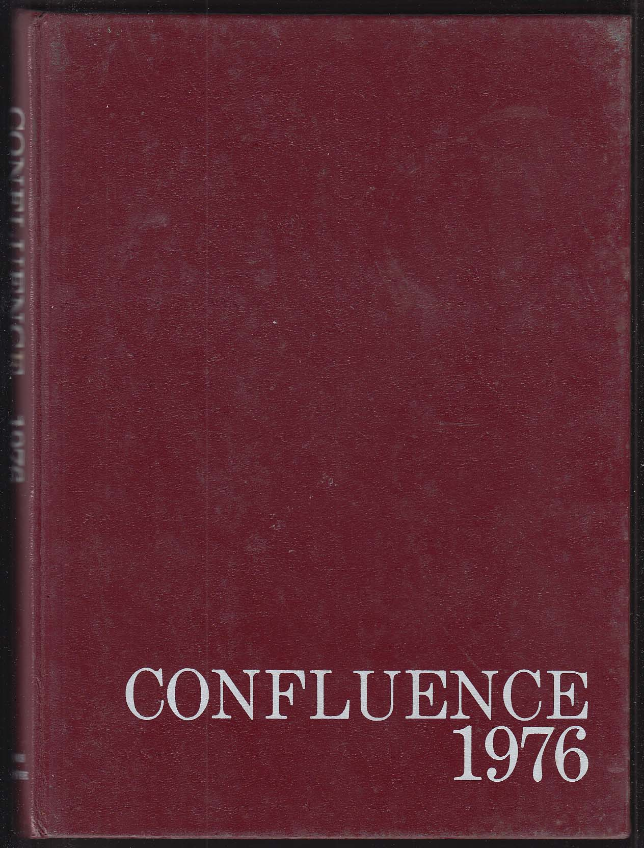 Image for Confluence 1976 Yearbook Loomis-Chaffee School Windsor CT