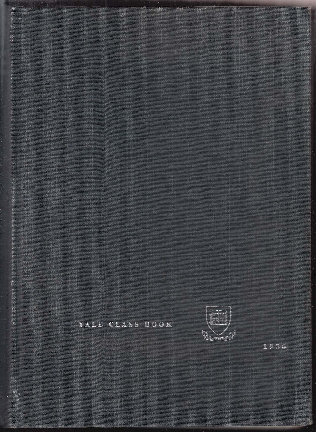 Yale Class Book 1956 Yearbook New Haven CT James Jeffords John Tunney