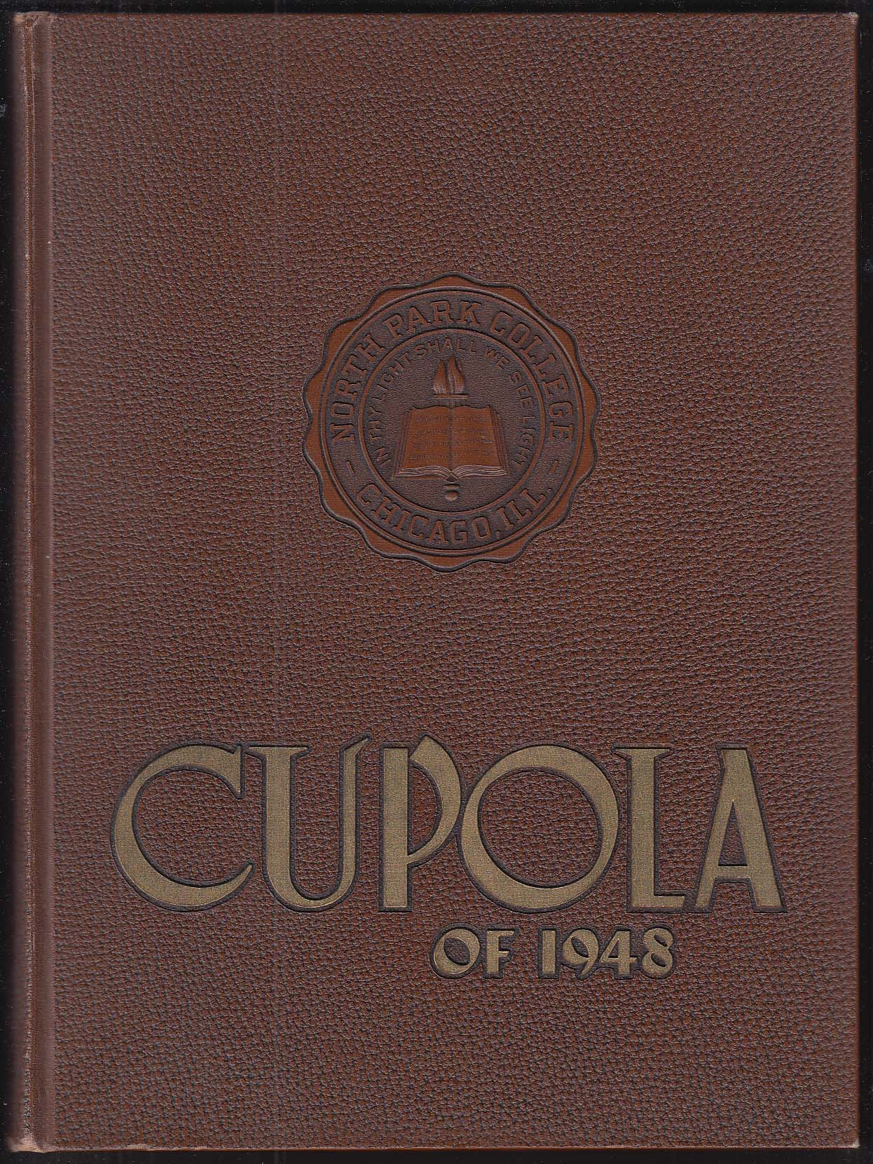 Image for Cupola 1948 Yearbook North Park College Chicago IL