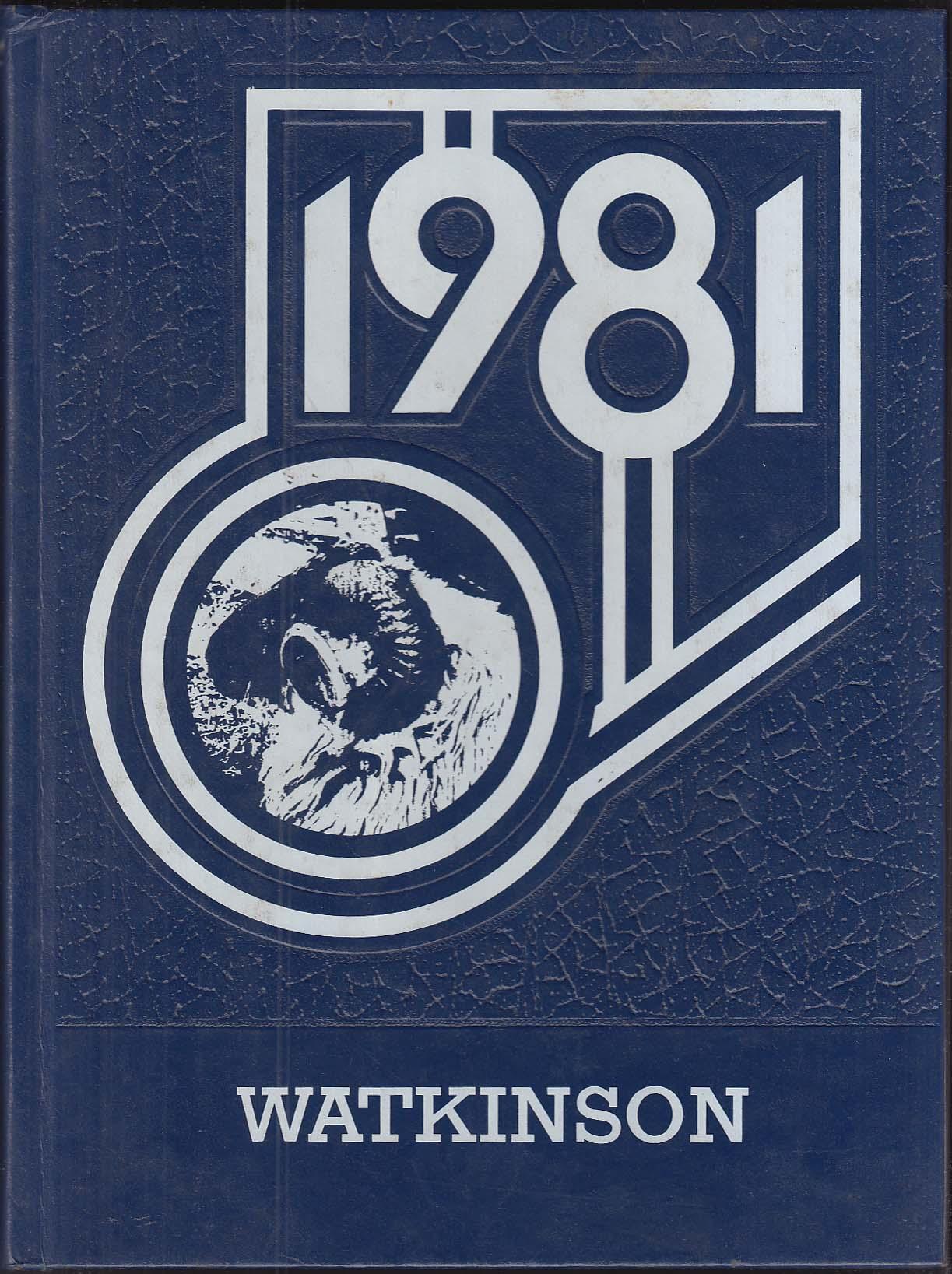 Image for Watkinson School 1981 Yearbook Hartford Connecticut