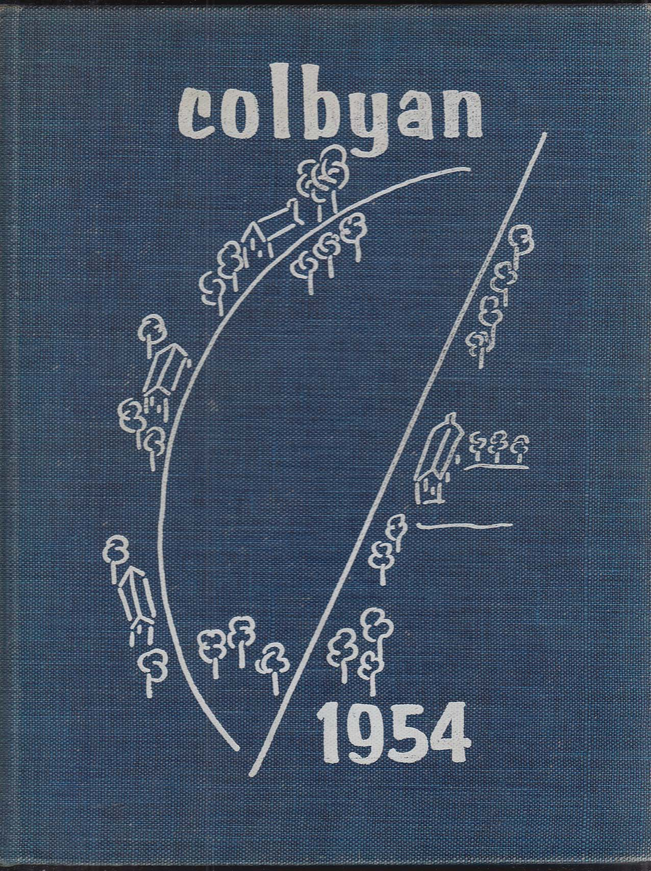 Image for Colbyan 1954 Yearbook Colby Junior College for Women New London New Hampshire