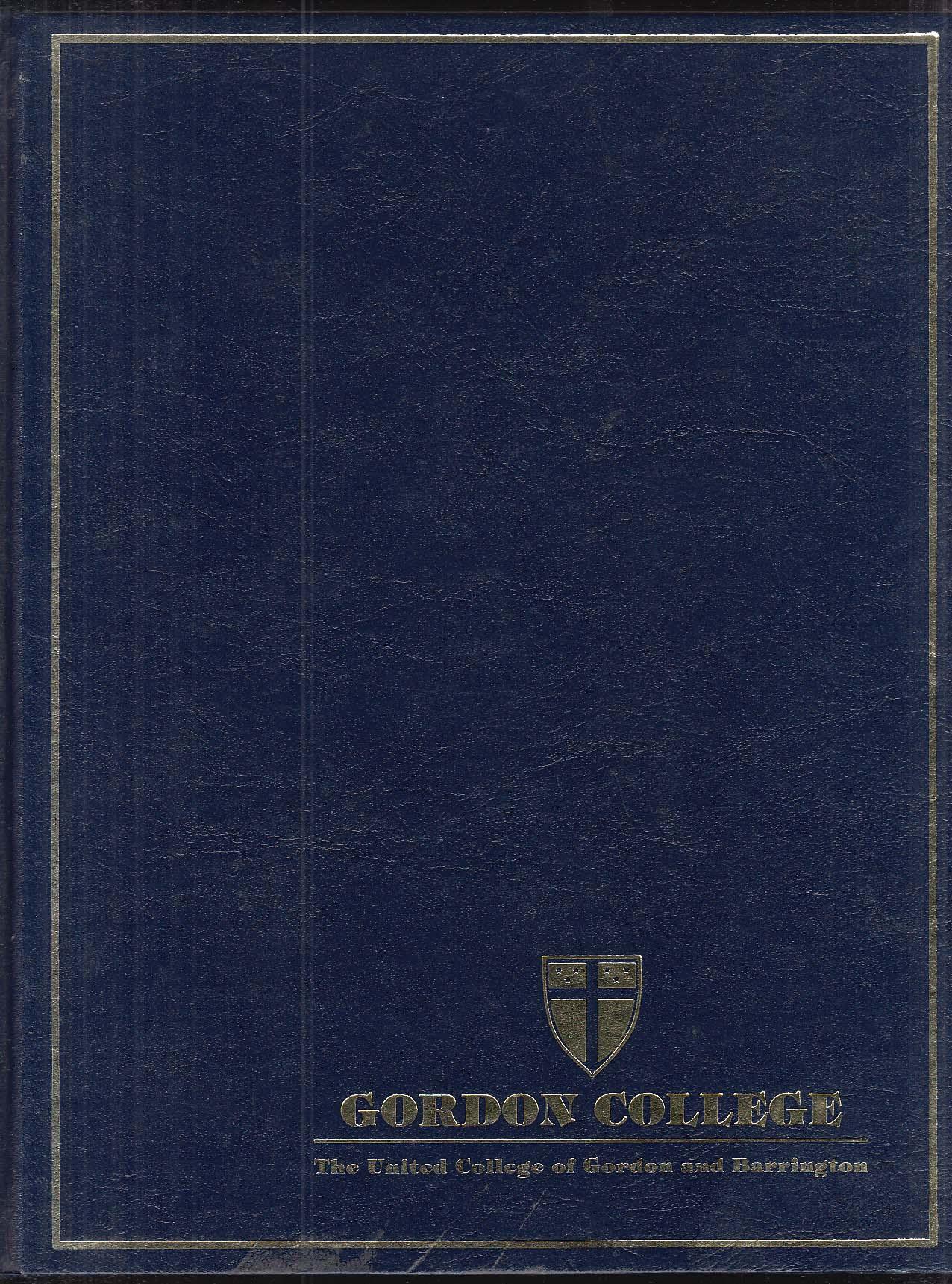 Image for Gordon Yearbook United College of Gordon & Barrington 1987 Hypernikon