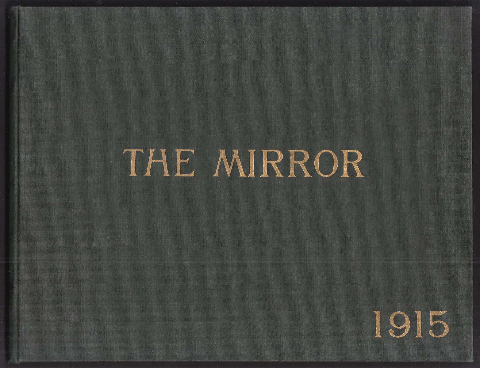 Image for The Mirror 1915 Norwich Free Academy Yearbook Norwich Connecticut
