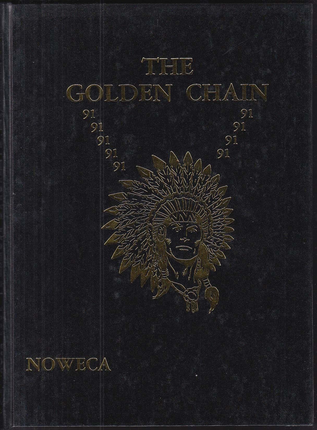 Image for NOWECA 1991 Yearbook Northwest Catholic High School West Hartford CT