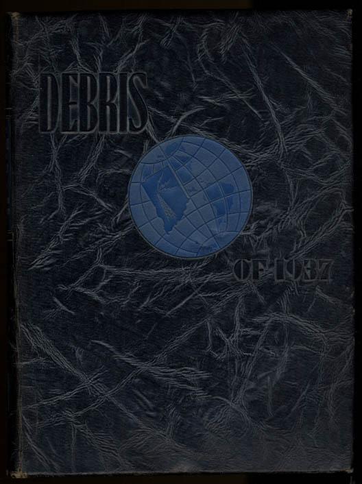 Image for Debris 1937 Purdue University Yearbook