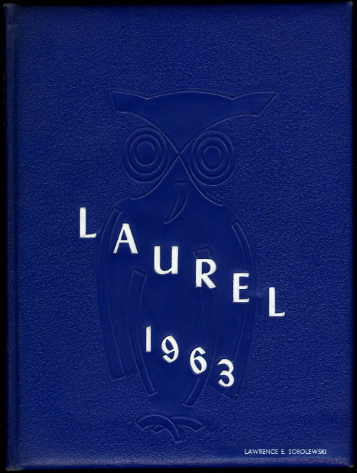 Laurel 1963 Southern Connecticut State College Yearbook New Haven CT