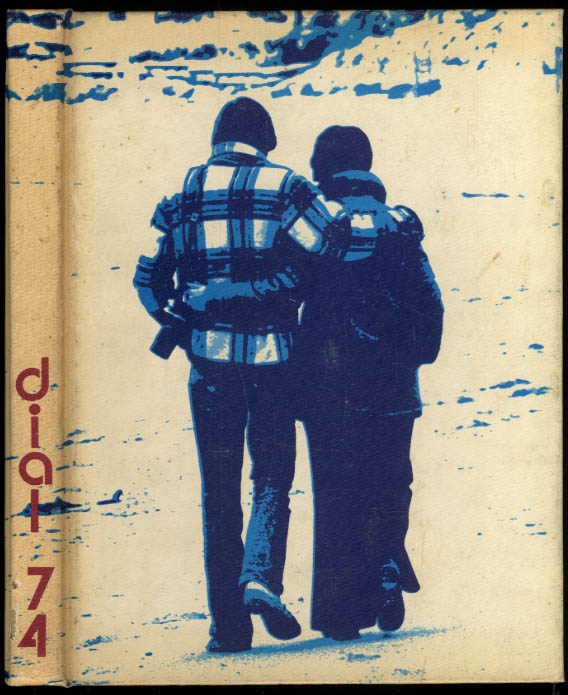 Dial 1974 Central Connecticut State College Yearbook New Britain CT